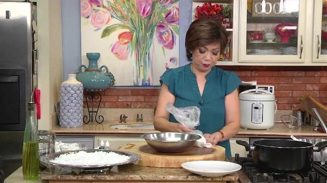 Bếp Nhà Ta Nấu | Bánh Bột Nếp Gáo Dừa