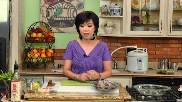 Bếp Nhà Ta Nấu | Cá Nục Hấp Rau Muống