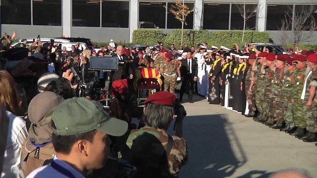 Sinh Hoạt Cộng Đồng | Lễ Vinh Danh Truy Điệu Và An Táng 81 Tử Sĩ TD7ND QLVNCH