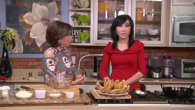 Bếp Nhà Ta Nấu | Bánh Chuối Chiên Bọc Dừa