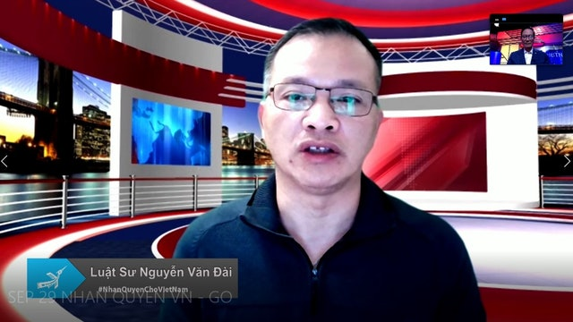 Nhân Quyền Cho Việt Nam | Luật Sư Nguyễn Văn Đài | 29/09/2021