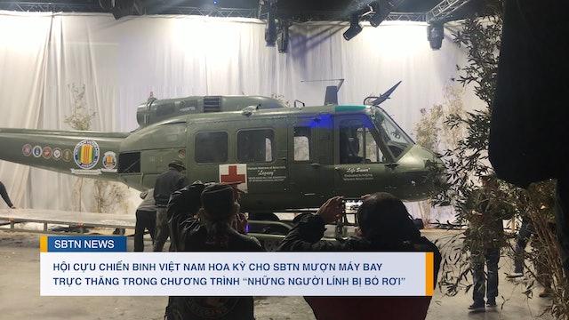 Hội Cựu Chiến Binh Việt Nam Hoa Kỳ cho SBTN mượn máy bay trực thăng
