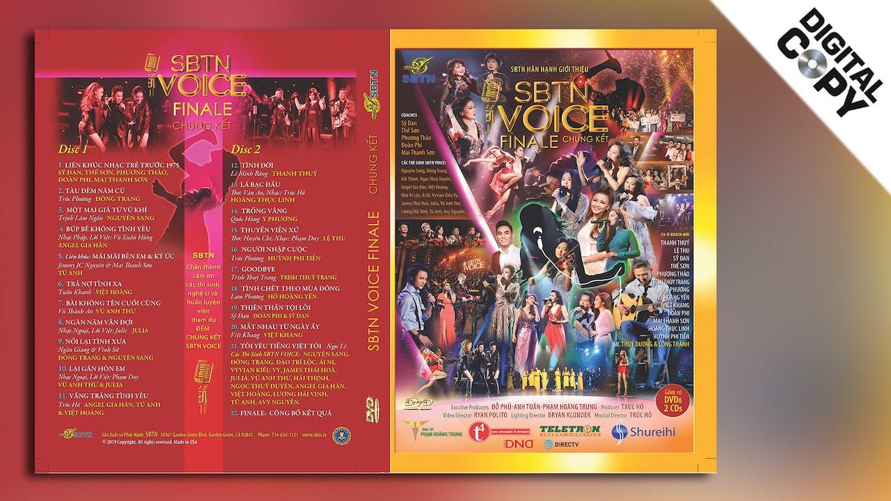 SBTN VOICE FINALE - Đêm Chung Kết (Digital Copy)