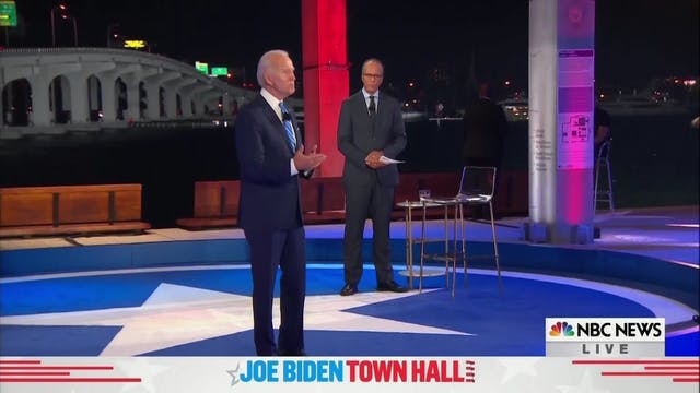 Election 2020 | Presidential Town Hal...