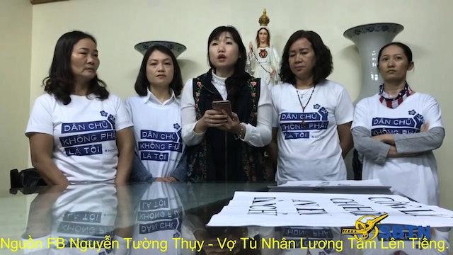 Nhân Quyền | Vợ Tù Nhân Lương Tâm Lên Tiếng