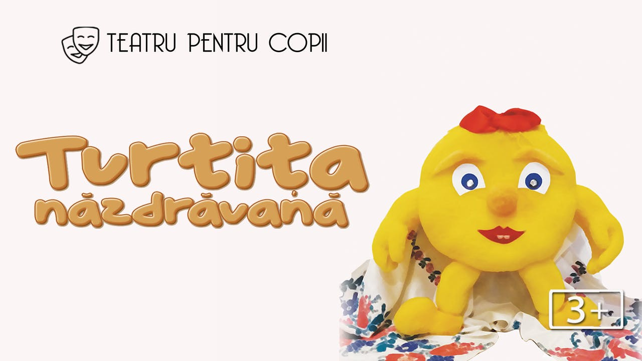 Turtița năzdrăvană // teatru pentru copii 3+