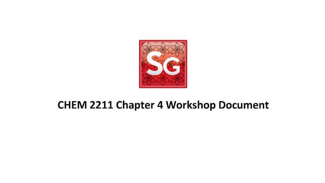 Chapter 4: Stereochemistry Workshop Document