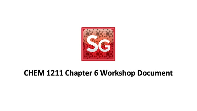 Chapter 6: Gases Workshop Spring 2021 Document