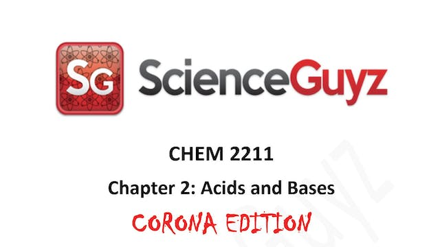 CHEM 2211 Chapter 2: Acids and Bases