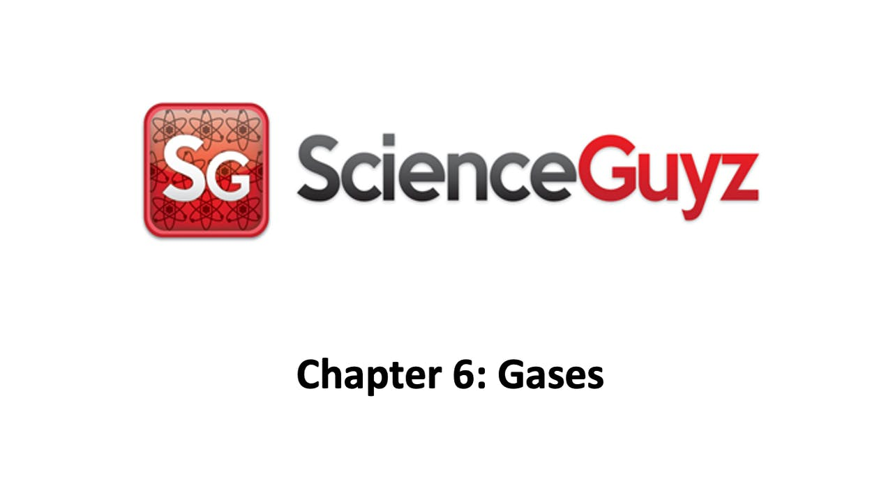 CHEM 1211 Chapter 6: Gases Workshop