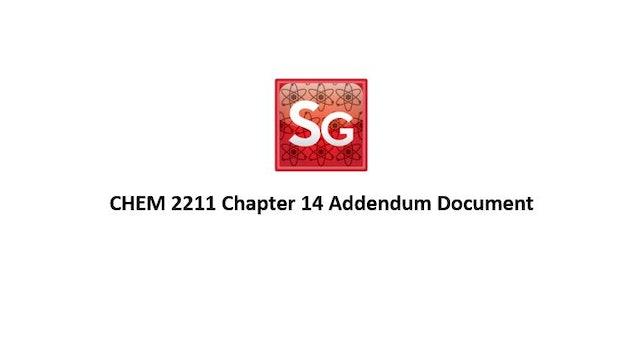 Chapter 14: NMR Addendum Document