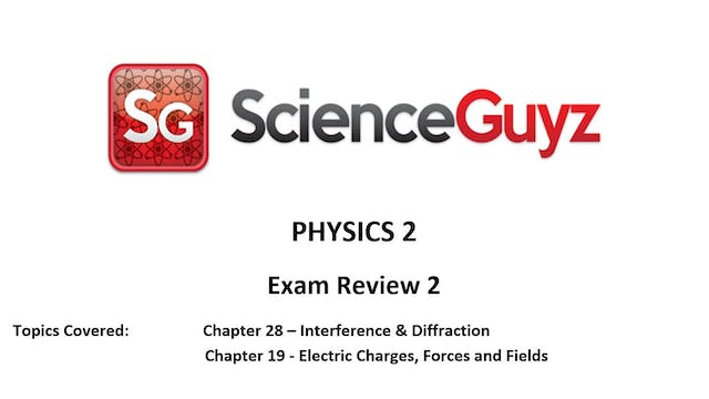 PHYS 1112 Exam Review #2 (Chapters 28 & 19)