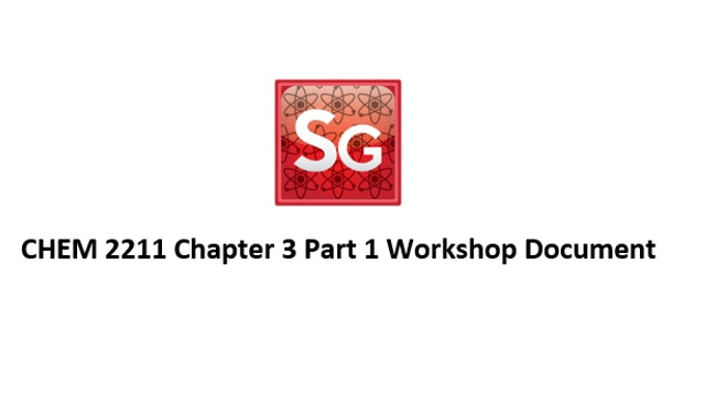 Chapter 3 (Part 1): Nomenclature Workshop Document