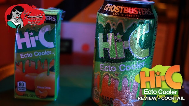 Homicidal Homemaker: Hi-C Ecto Cooler Review + Ecto-1 Cocktail Recipe