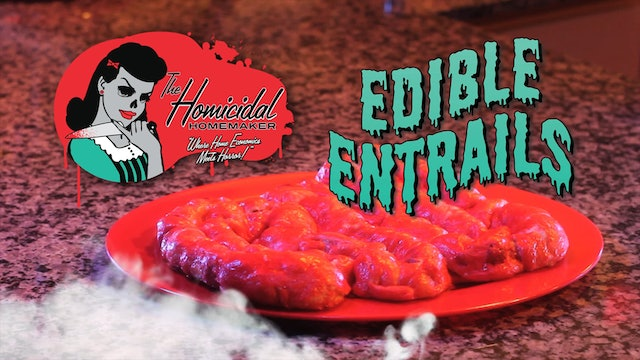 Homicidal Homemaker: Edible Entrails Walking Dead Recipe