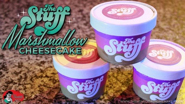 "Homicidal Homemaker: ""The Stuff"" Marshmallow Cheesecake"