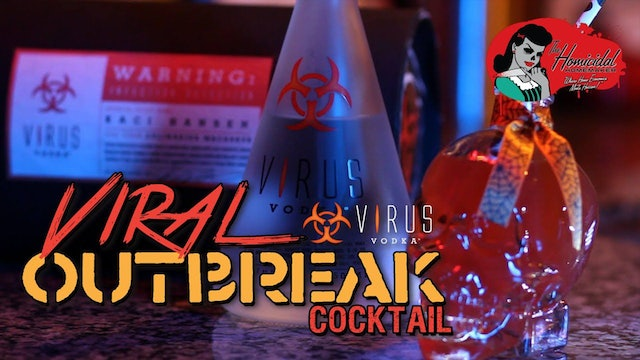 Homicidal Homemaker: Virus Vodka Review + Viral Outbreak Cocktail Recipe