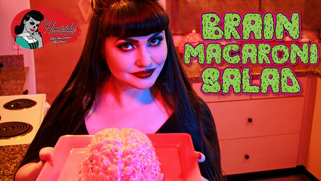 Homicidal Homemaker: Brain Macaroni Salad Recipe