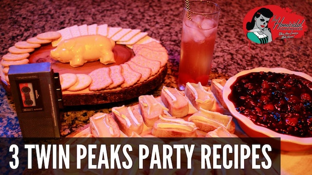 Homicidal Homemaker: 3 Recipes for Your Twin Peaks Viewing Party