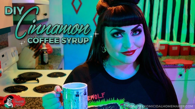 Homicidal Homemaker: DIY Cinnamon Coffee Syrup