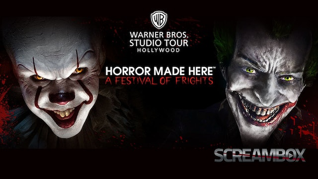 Behind the Screams: Warner Bros. Horror Made Here - A Festival of Frights
