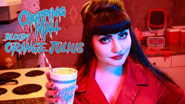 Homicidal Homemaker: Chopping Mall Bloody Orange Julius
