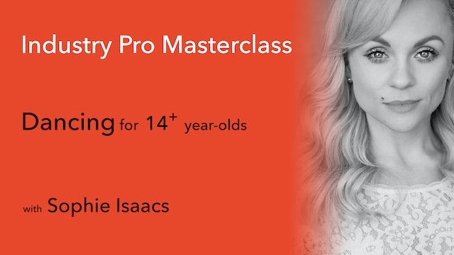 Stagecoach Exclusive Industry Pro Masterclass: Sophie Isaacs