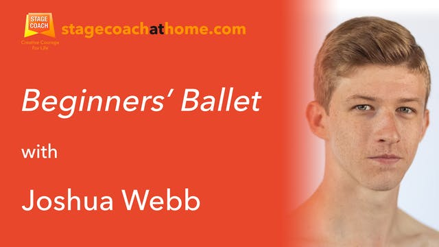 Beginners Ballet with Joshua Webb