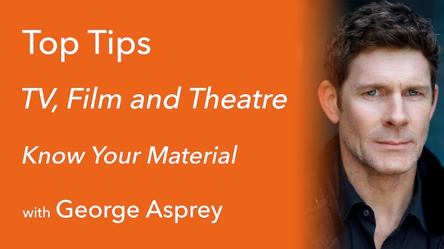 Know Your Material with George Asprey