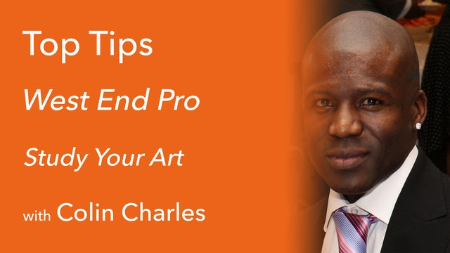 Study Your Art with Colin Charles