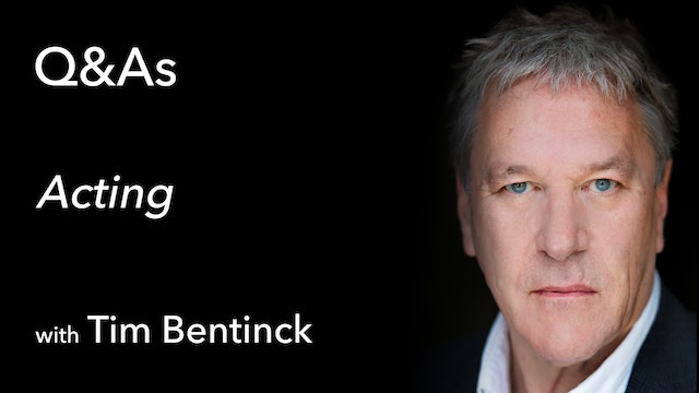 Q&A with Timothy Bentinck MBE