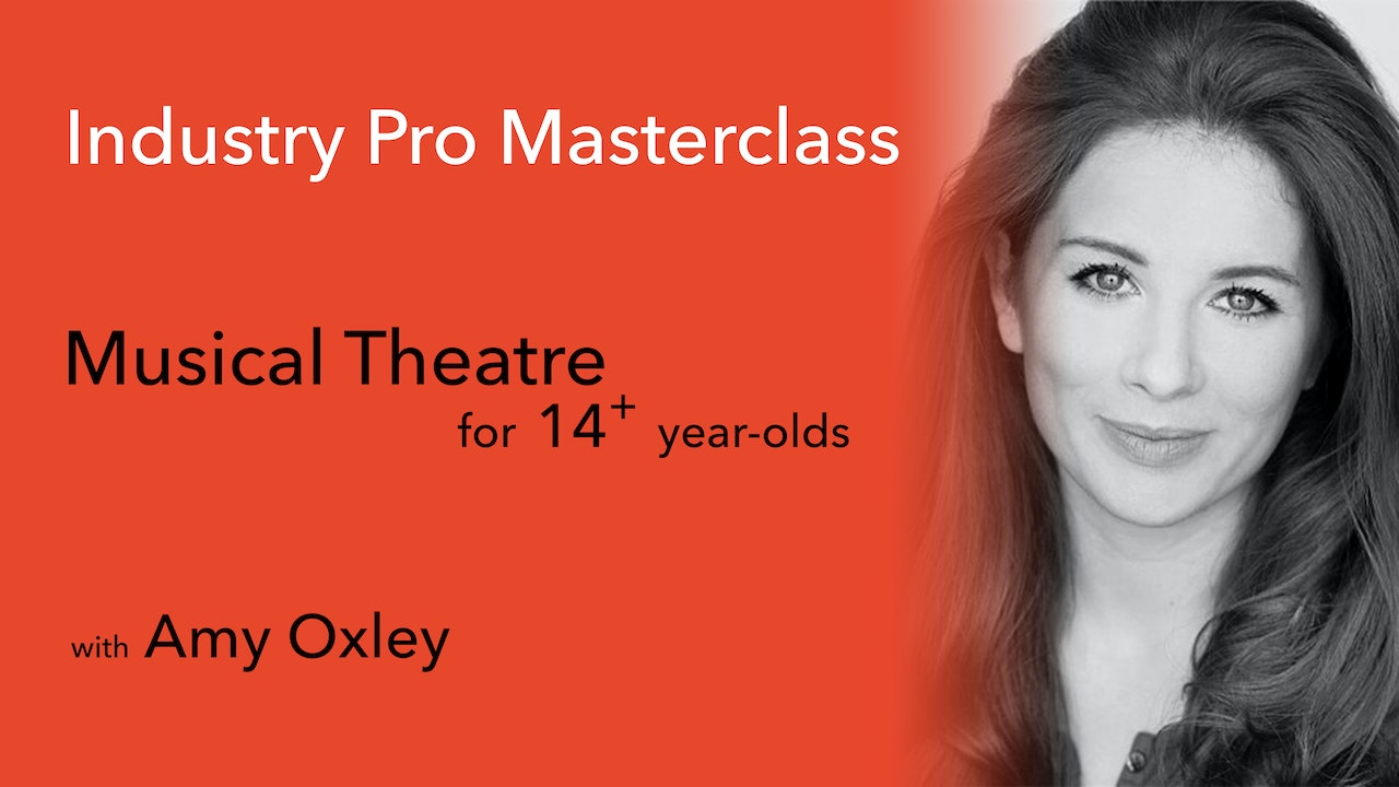 Industry Pro Masterclass (20mins): Amy Oxley