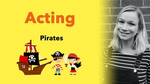 Pirates (1/2) Create your own Pirate Character