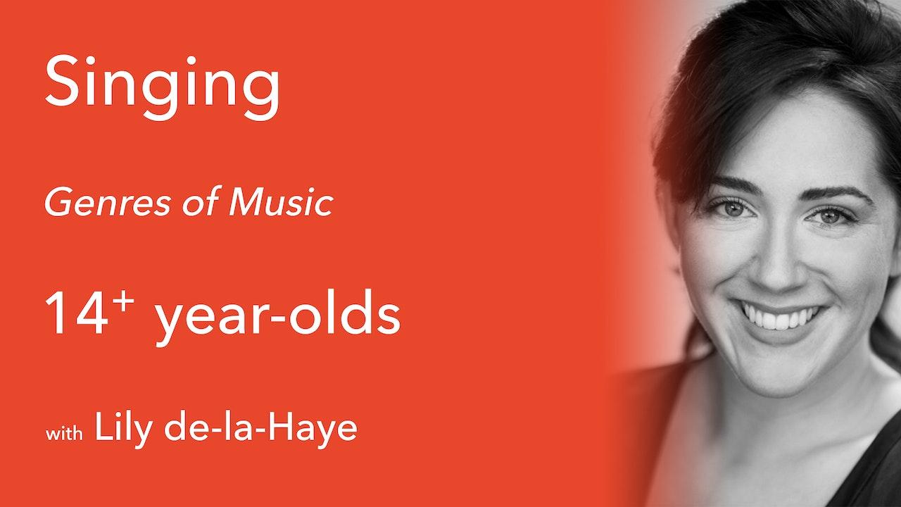 Singing Masterclass - Genres of Music