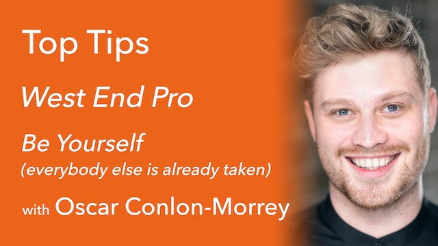 Be Yourself with Oscar Conlon-Morrey