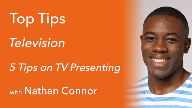 TV Presenting with Nathan Connor