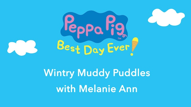 Peppa Pig: Wintry Muddy Puddles