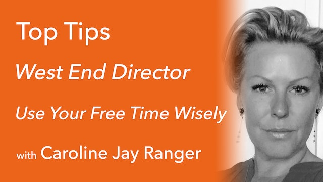 Use Your Free Time Wisely with Caroline Jay Ranger