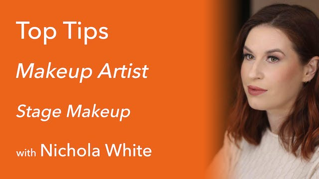 Stage Makeup with Nichola White
