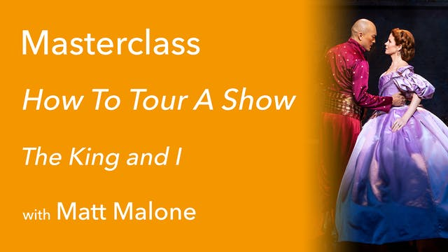 Exclusive Masterclass: How To Tour A ...