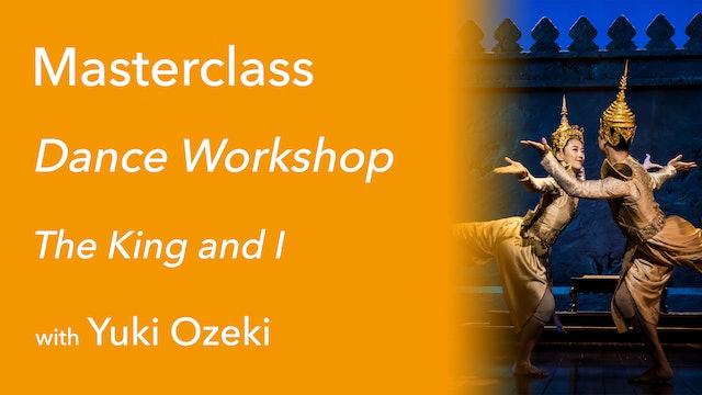 Exclusive Masterclass: Dance Workshop with Yuki Ozeki