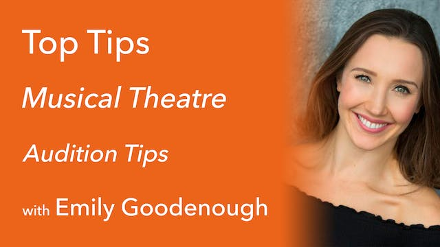 Musical Theatre: Dance Audition Tips ...
