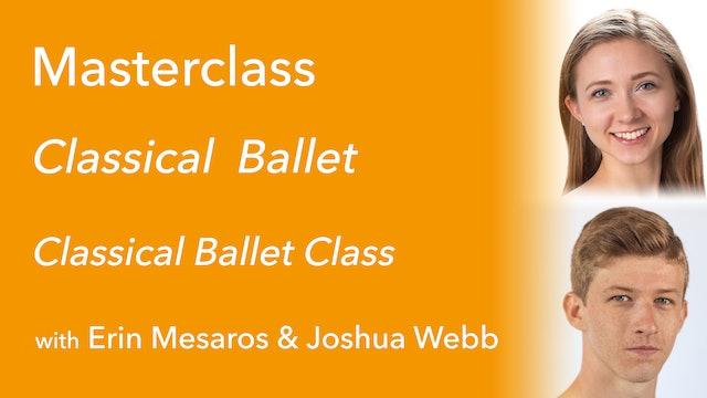 Exclusive Masterclass: Classical Ballet Class