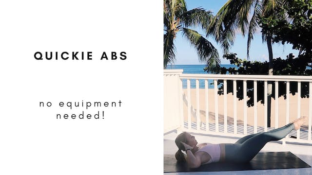 8.17.20 quickie abs