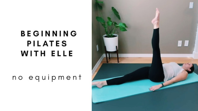 Beginning Pilates with Elle