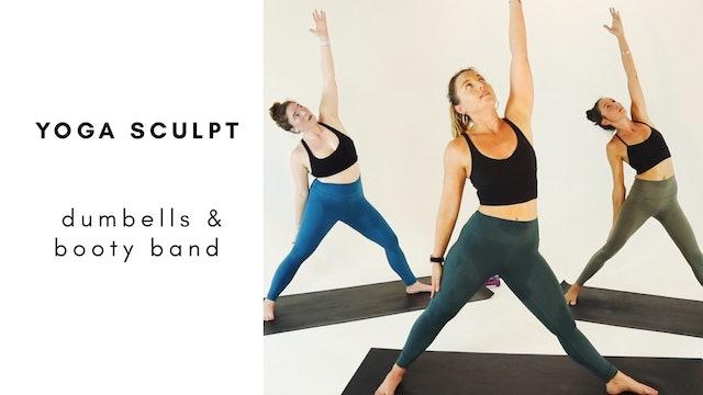 6.3.20 yoga sculpt