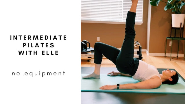 intermediate pilates with elle
