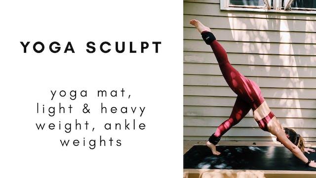 6.11.20 yoga sculpt