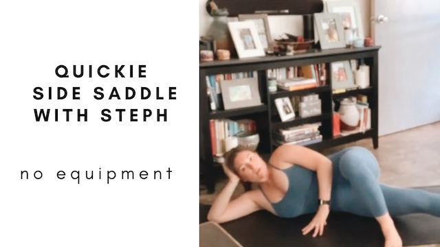 quickie side saddle with steph