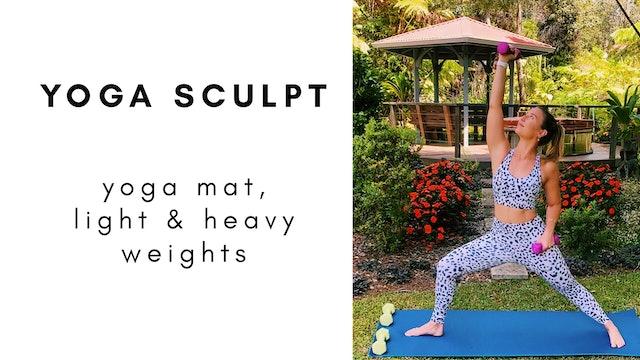 6.22.20 yoga sculpt